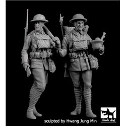 BLACK DOG F35196 1/35 British soldiers WWI set