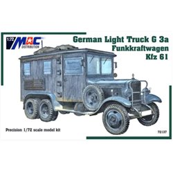 MAC DISTRIBUTION 72137 1/72 German Light Truck G3a Funkkraftwagen Kfz 61
