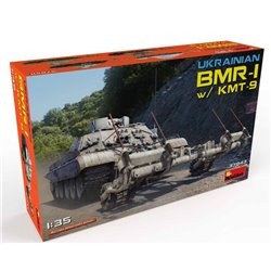 MINIART 37043 1/35 Ukrainian BMR-1 with KMT-9