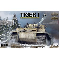 RYE FIELD MODEL RM-5025 1/35 German Tiger Early Prod Wittmann's Tiger No. 504