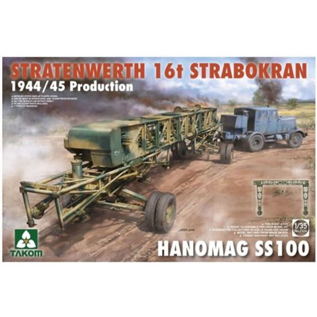 TAKOM 2124 1/35 Stratenwerth 16T Strabokran 1944/45 Production Hanomag SS100