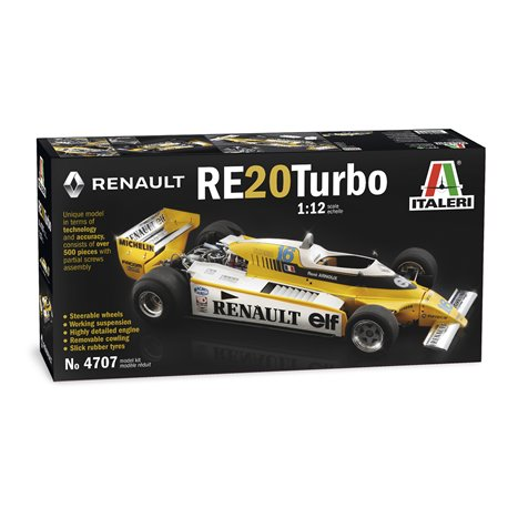 ITALERI 4707 1/12 Renault RE20 Turbo
