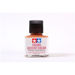 TAMIYA 87201 Figure Accent Color Pink Brown 40ml