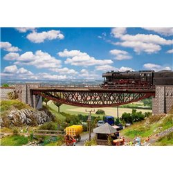 FALLER 120503 HO 1/87 Fish-bellied bridge