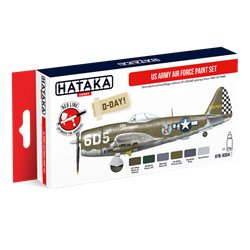 HATAKA HTK-AS04.2 US Army Air Force paint set (6 x 17 ml)