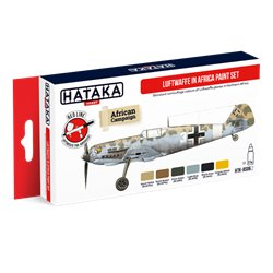 HATAKA HTK-AS06.2 Luftwaffe in Africa paint set (6 x 17 ml)