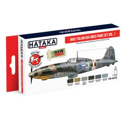 HATAKA HTK-AS103 WW2 Italian Air Force Paint set vol. 1 (6 x 17 ml)