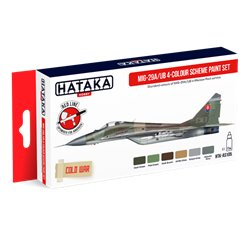 HATAKA HTK-AS105 MiG-29A/UB 4-colour scheme paint set (6 x 17 ml)