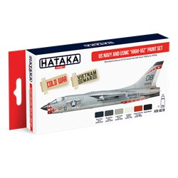 "HATAKA HTK-AS18 US Navy and USMC ""high-viz"" paint set (6 x 17 ml)"