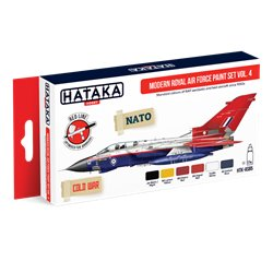 HATAKA HTK-AS85 Modern Royal Air Force paint set vol. 4 (6 x 17 ml)