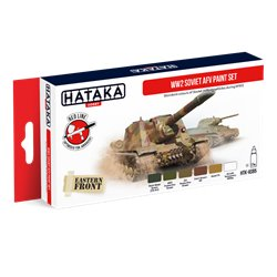 HATAKA HTK-AS95 WW2 Soviet AFV paint set (6 x 17 ml)