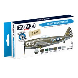 HATAKA HTK-BS04.2 US Army Air Force paint set (6 x 17 ml)