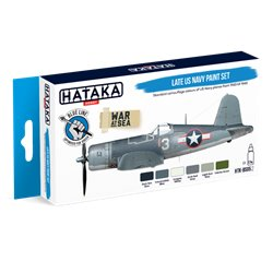 HATAKA HTK-BS05.2 Late US Navy paint set (6 x 17 ml)