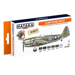 HATAKA HTK-CS04.2 US Army Air Force paint set (6 x 17 ml)