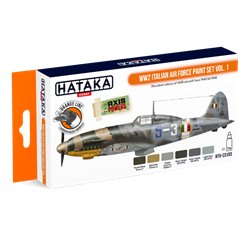 HATAKA HTK-CS103 WW2 Italian Air Force Paint set vol. 1 (6 x 17 ml)