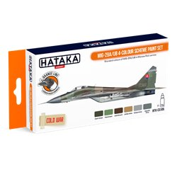 HATAKA HTK-CS105 MiG-29A/UB 4-colour scheme paint set (6 x 17 ml)