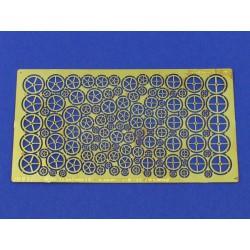 HATAKA HTK-CS105 MiG-29A/UB 4-colour scheme paint set (6 x 17 ml)