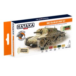 HATAKA HTK-CS106 WW2 Italian AFV paint set (6 x 17 ml)