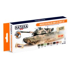 HATAKA HTK-CS108 Modern Australian Army AFV paint set (8 x 17 ml)