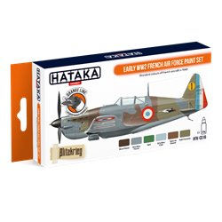 HATAKA HTK-CS16 Early WW2 French Air Force paint set (6 x 17 ml)