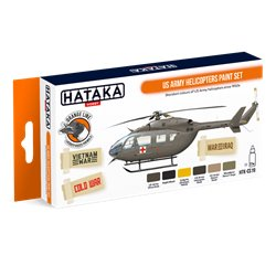 HATAKA HTK-CS19 US Army Helicopters Paint Set (6 x 17 ml)