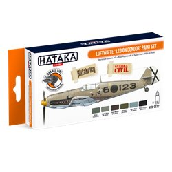 "HATAKA HTK-CS32 Luftwaffe ""Legion Condor"" paint set (6 x 17 ml)"
