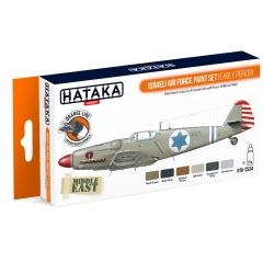 HATAKA HTK-CS34 Israeli Air Force paint set (early period) (6 x 17 ml)