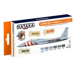 HATAKA HTK-CS43 Ultimate USAF F15 paint set (all variants) (6 x 17 ml)