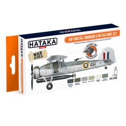 HATAKA HTK-CS49 RAF Coastal Command & RN FAA paint set (6 x 17 ml)