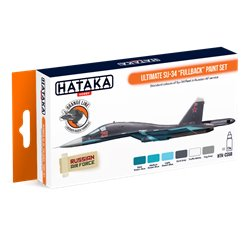 "HATAKA HTK-CS58 Ultimate Su-34 ""Fullback"" paint set (6 x 17 ml)"