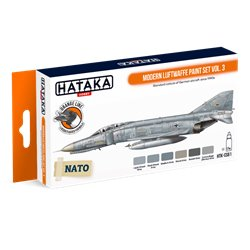 HATAKA HTK-CS61 Modern Luftwaffe paint set vol. 3 (6 x 17 ml)