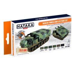 HATAKA HTK-CS65 Modern Finnish Army AFV paint set (6 x 17 ml)