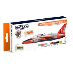 HATAKA HTK-CS70 Modern Royal Air Force paint set vol. 3 (8 x 17 ml)
