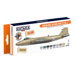 HATAKA HTK-CS73 Modern Royal Air Force paint set vol. 2 (8 x 17 ml)