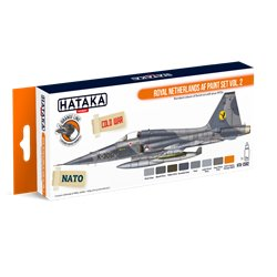 HATAKA HTK-CS82 Royal Netherlands AF paint set vol. 2 (8 x 17 ml)