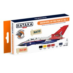 HATAKA HTK-CS85 Modern Royal Air Force paint set vol. 4 (6 x 17 ml)