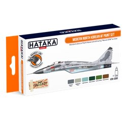 HATAKA HTK-CS93 Modern North Korean AF paint set (6 x 17 ml)