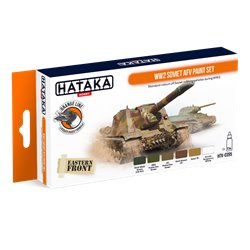 HATAKA HTK-CS95 WW2 Soviet AFV paint set (6 x 17 ml)