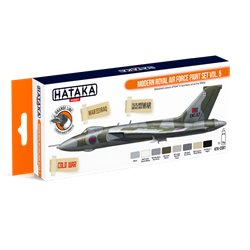 HATAKA HTK-CS97 Modern Royal Air Force paint set vol. 5 (8 x 17 ml)