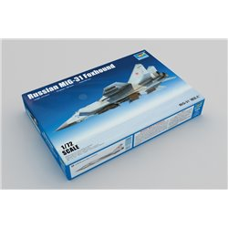 TRUMPETER 01679 1/72 Russian MiG-31 Foxhound*