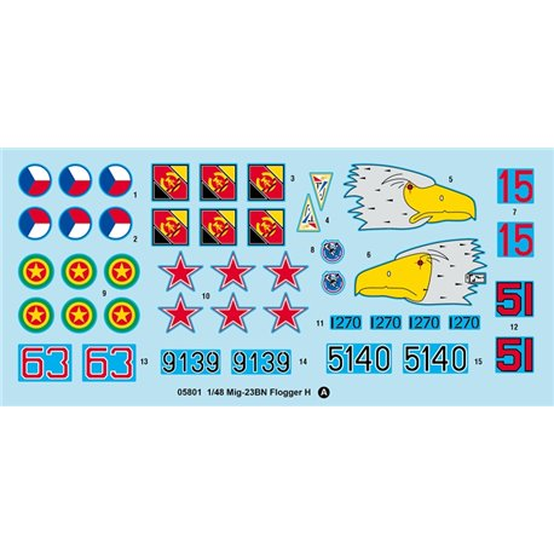 TRUMPETER 05801 1/48 Mig-23BN Flogger H*