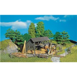 FALLER 130288 HO 1/87 Dépôt de bois - Lumber yard