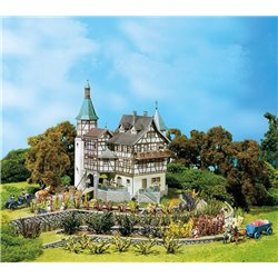 FALLER 130385 HO 1/87 Château médiéval Falkeneck - Falkeneck Hunter's lodge