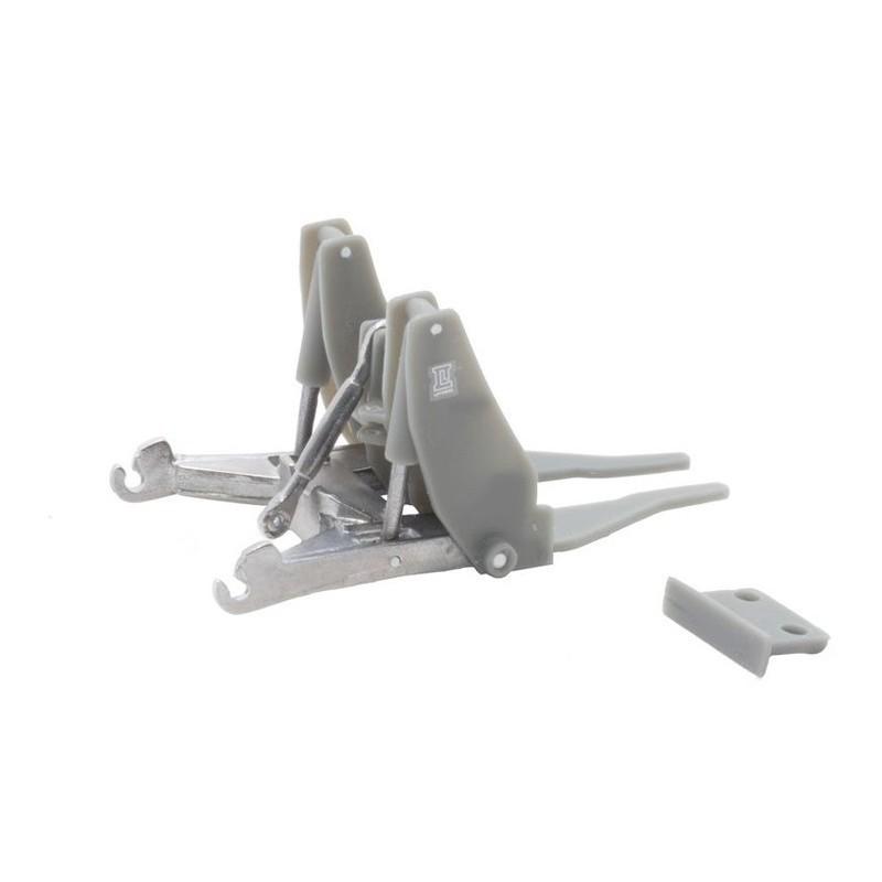 FALLER 130617 HO 1/87 Maison d'angle avec bureau de poste - Corner house with post office