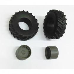 FALLER 170811 HO 1/87 Dalle de décoration Pros, Assortiment de plaques de mur