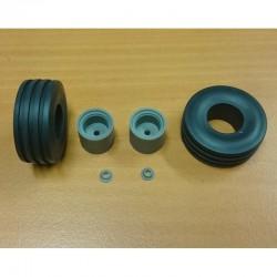 FALLER 170881 HO 1/87 Decorative sheet tunnel portal Natural stone ashlars