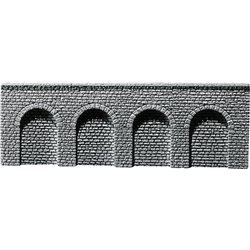 FALLER 170890 HO 1/87 Decorative sheet arcades Profi, Natural stone ashlars
