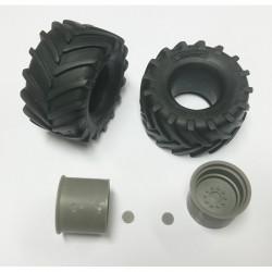 FALLER 180203 HO 1/87 Éclairage public LED, lampe en prolongement, deux bras