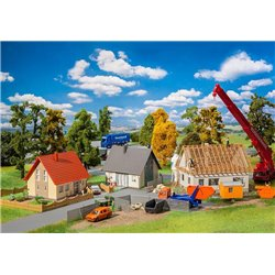 FALLER 190067 HO 1/87 Coffret promotionnel Zone à constructions neuves