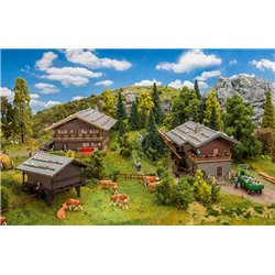 FALLER 190064 HO 1/87 Coffret promotionnel Village alpin